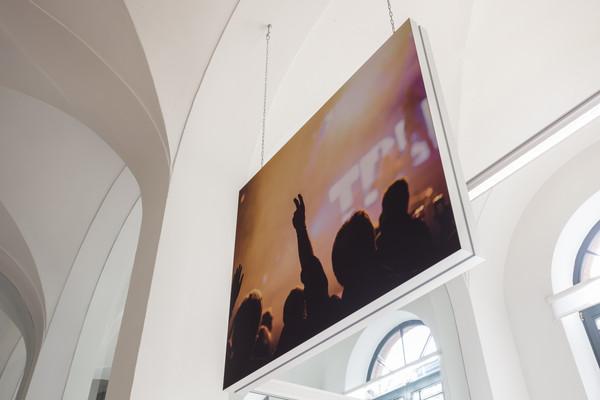 Geluidsabsorptie aan het plafond